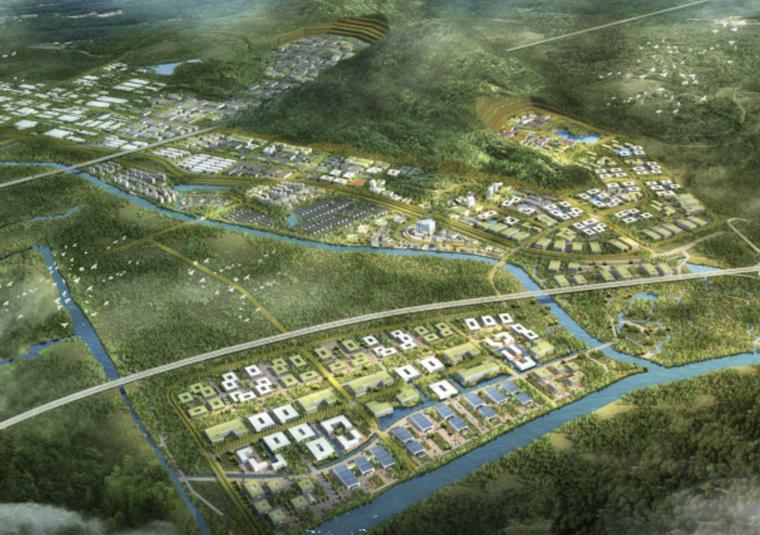 [浙江]台州智能模具特色小镇建筑设计方案文本