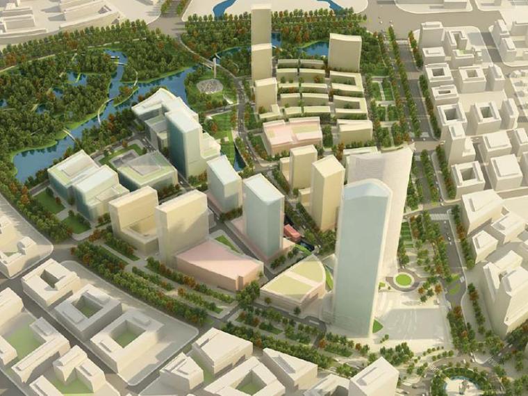 KPF新江湾城F地块城市规划方案文本(170张)
