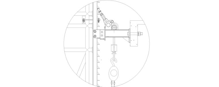 电动葫芦安装图