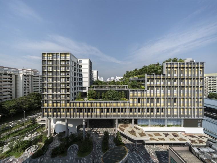 老年人公寓楼资料下载-新加坡海军部混合体建筑