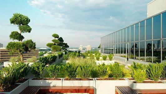 夏热冬冷地区屋顶花园景观设计要点