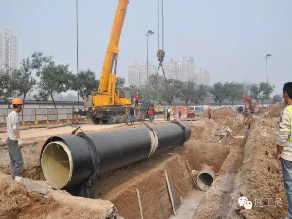 市政工程中给排水施工的安全管理!
