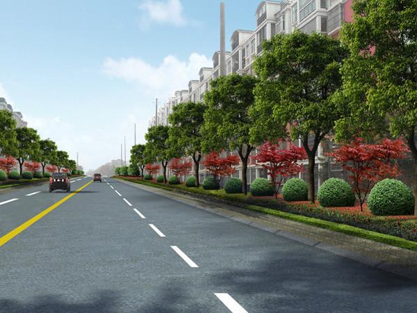 城市道路毕业设计论文原版