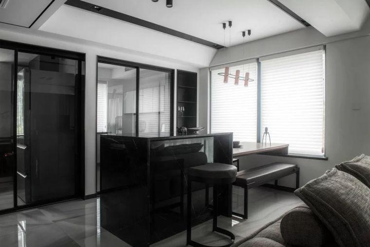 最简单的黑白灰,塑造最高级的家!_6