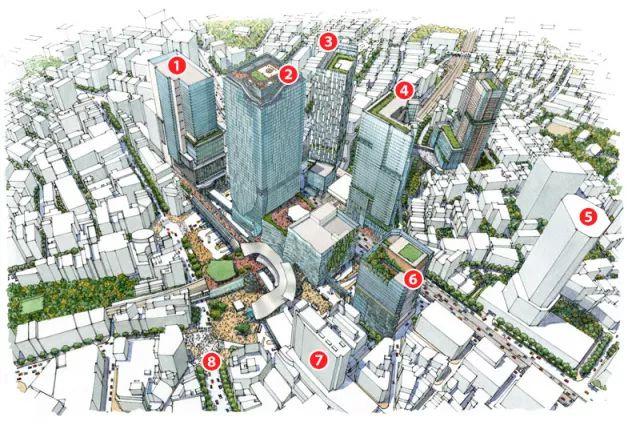 2020东京奥运会最大亮点:涩谷超大级站城一体化开发项目_20