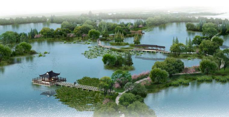 [苏州园林]某国家湿地公园景观设计方案文本.pdf(80页)