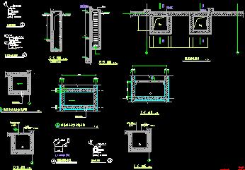 地下室人防建筑施工图