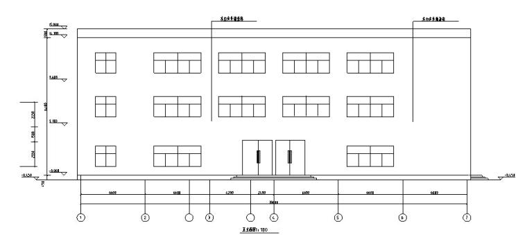 某3层百货大楼设计(2820平,含计算书、建筑图,结构图)_4