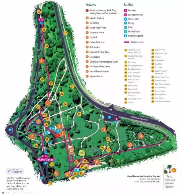 带你看一看 澳大利亚塔斯马尼亚皇家植物园