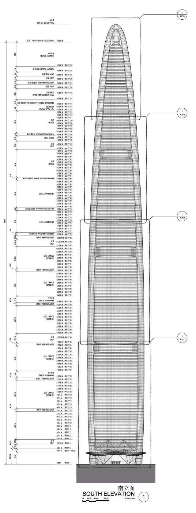 636米!中国第一高楼即将被刷新_33