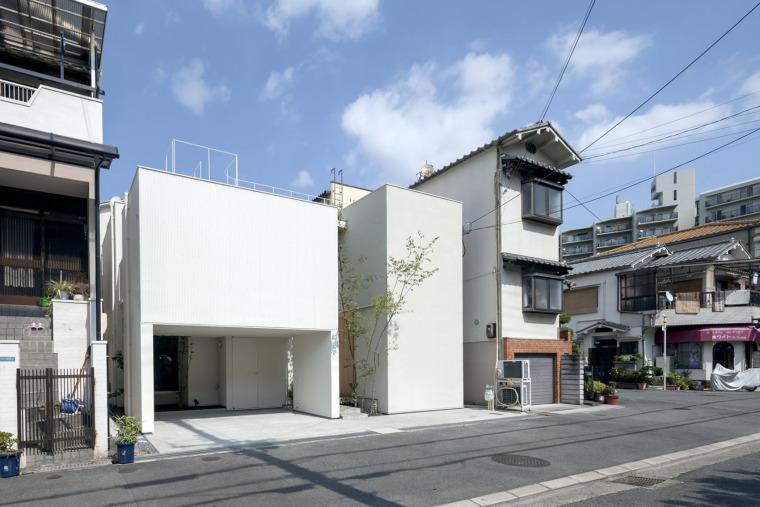 大阪夹缝住宅-3