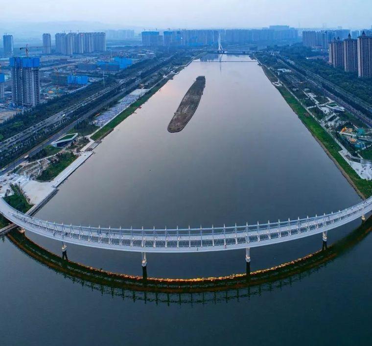 """太原""""汾河之冠""""人行景观桥,尽展结构技艺之美!_15"""
