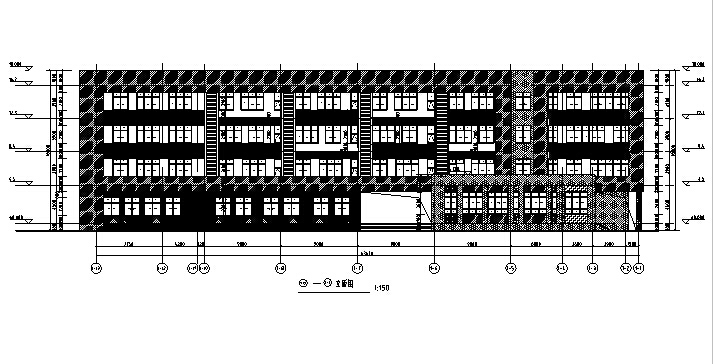 [合肥]多层小学及中学建筑全专业施工图(含地下车库及人防)