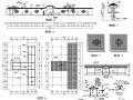 中式园林景观小品围墙设计详图
