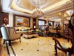 万泰设计分享中海铂宫装修 古典欧式风格案例