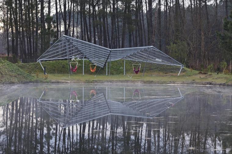 法国风景如画的生态酒店-12