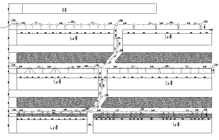 采暖管网施工图资料下载-某小区室外给排水管网施工图设计(含阀门井大样)