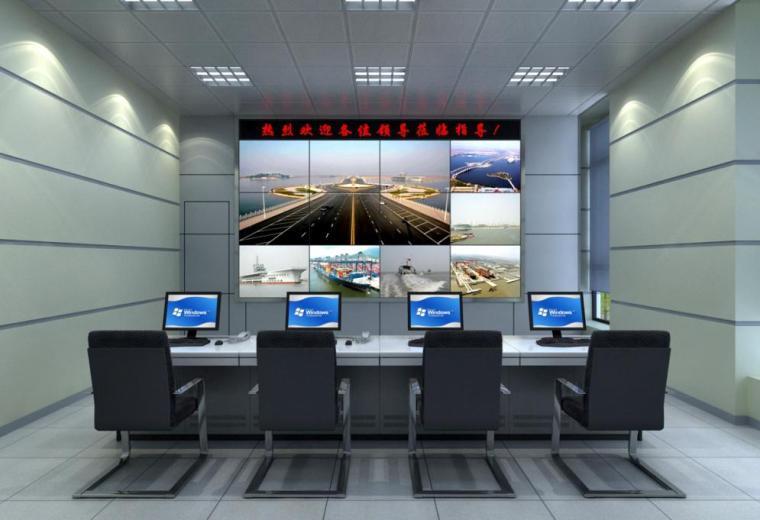 大型监控电视墙LCD大屏系统视频综合平台拼接方案