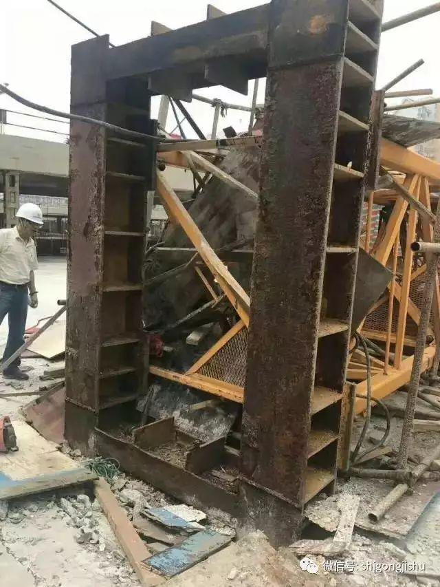 上海一工地塔吊倒塌事故有了新进展,原因不敢相信!