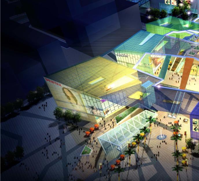 深圳中航城办公楼改造项目概念方案设计