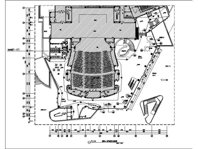 [浏阳]某影视会议中心装修设计施工图