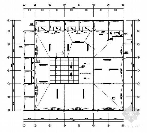 某学校食堂电气设计图
