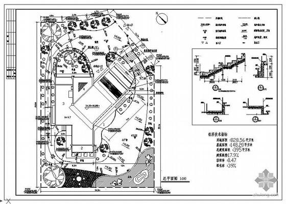 佛山某别墅建筑结构图