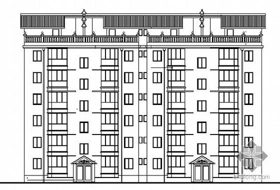 [毕业设计]某小康型单元式六层砖混住宅楼建筑施工图