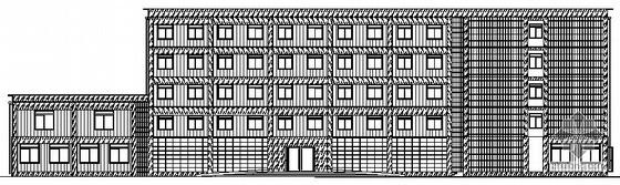 [河北省秦皇岛]黄金海岸旅馆建筑施工设计图(毕业设计)