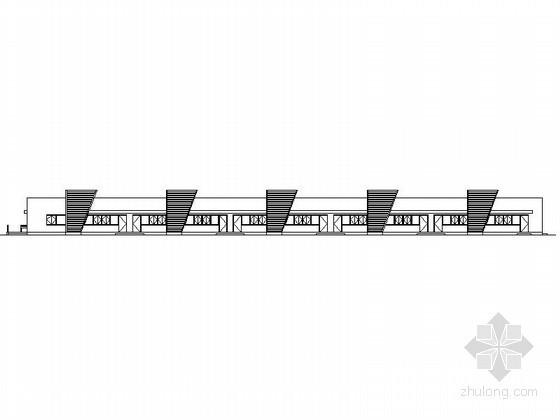 [哈尔滨]某汽车交易场C1普通二手车店建筑方案图