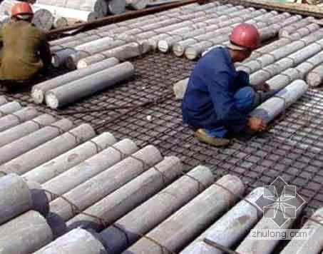 天津某工程现浇空心楼板施工工艺