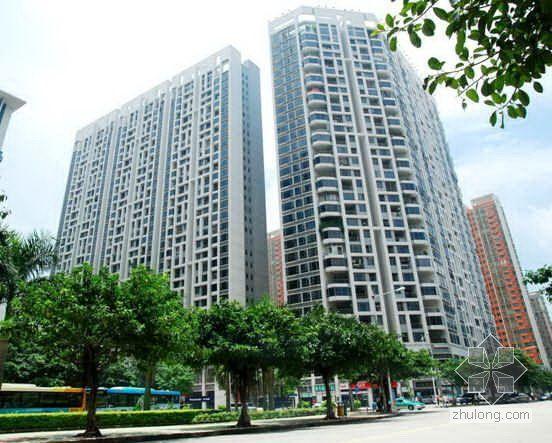 广州某高层住宅小区创鲁班奖工程施工质量汇报(PPT 图文并茂)