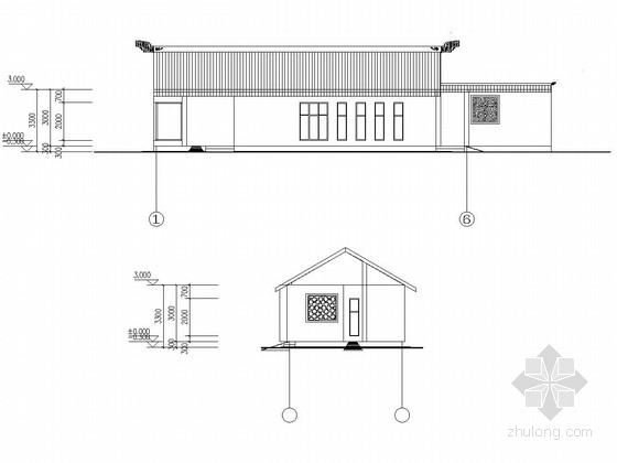 砖混结构星级卫生间建筑结构施工图