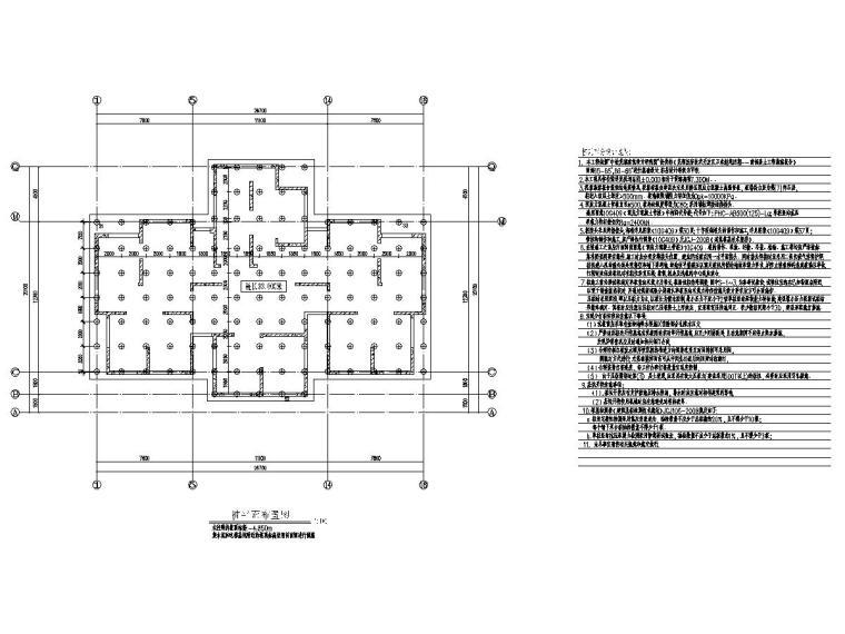 30层高层住宅楼结构图(有钢雨篷图)