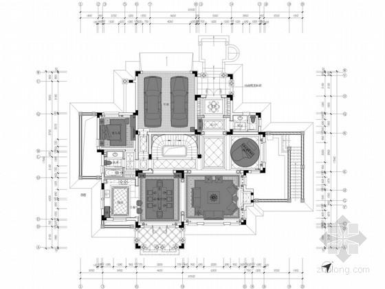 [青岛]低密度高端社区欧式两层独栋别墅概念方案