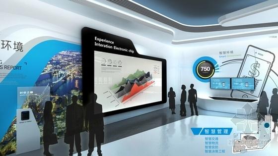 [浙江]物联网智慧城市展厅体验馆设计方案(设计逻辑清晰)-物联网智慧城市展厅体验馆设计方案(设计逻辑清晰)方案图