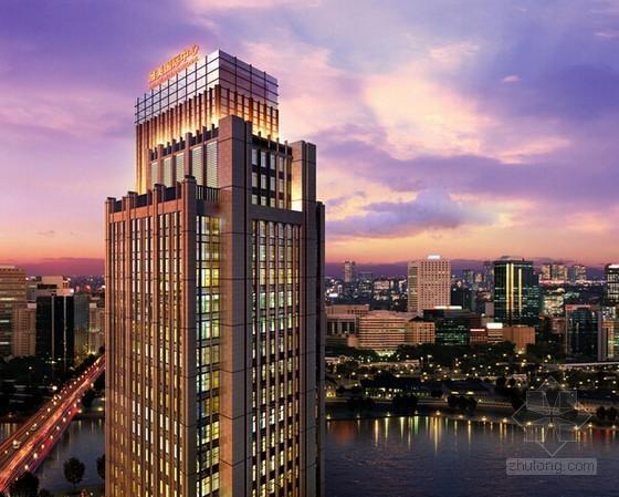 [上海]高档装修甲级高层办公楼工程造价指标分析
