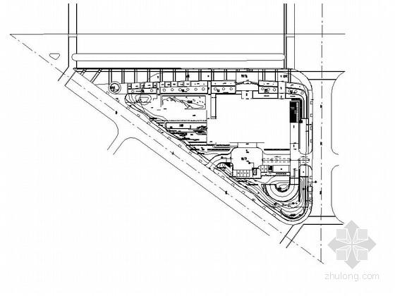 [上海]金融中心办公环境景观设计施工图