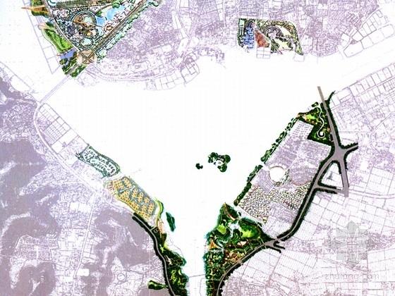 [江苏]独一无二湿地水岸公园景观规划设计