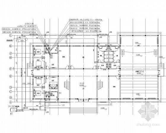 [湖南]特殊学校综合楼给排水消防施工图