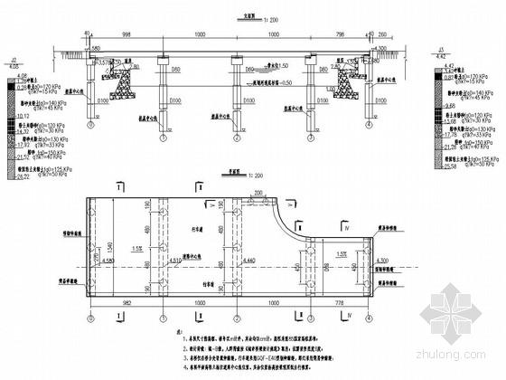 [江苏]空心板梁城市景观桥施工图设计55张