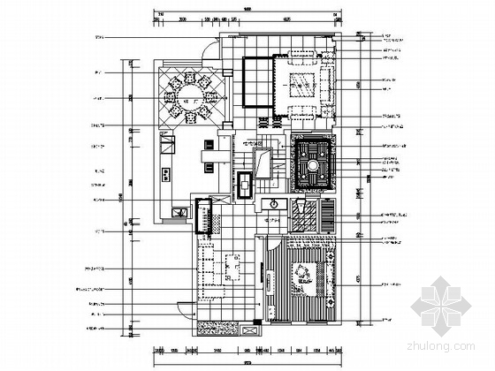[南京]现代风格三层别墅室内装修图(含实景)