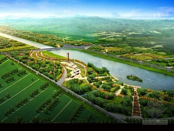 [山东]低碳生态城市滨水景观规划设计方案