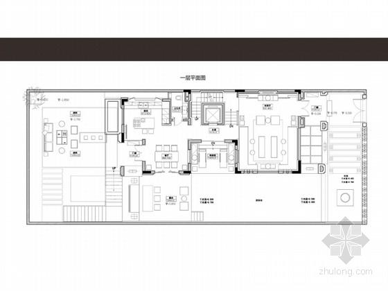[广东]新中式精致大气别墅室内概念设计方案(含效果图)