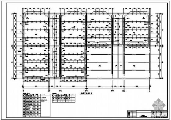 某水厂V型滤池结构设计图