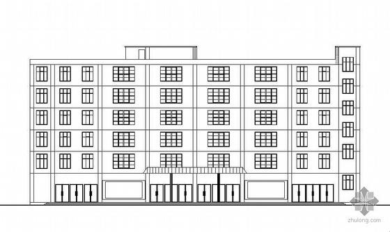 [毕业设计]某六层综合办公楼建筑结构施工图纸(含计算书)