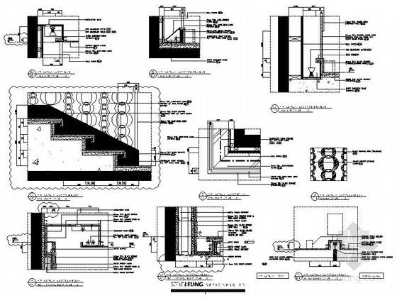 澳门某高档酒店中餐厅全套节点CAD图块下载