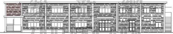 某学校小食堂建筑施工图