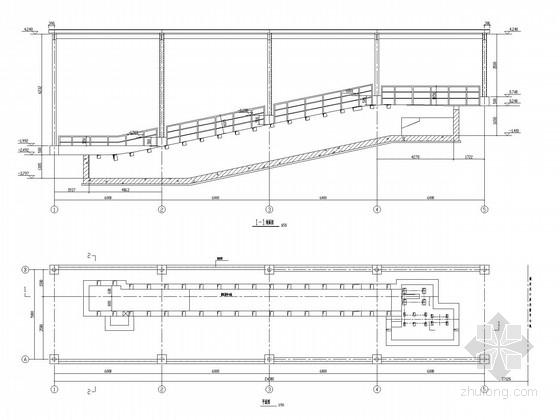 爬车机房钢结构施工图