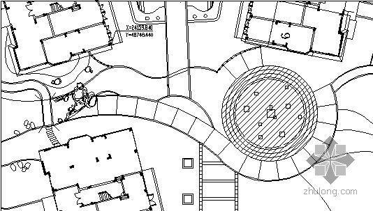 福建下沉广场施工图